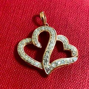 🖤Genuine Diamond Heart pendant